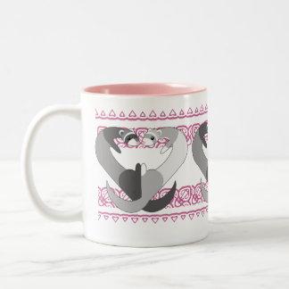 Hearts of Ferret Mug