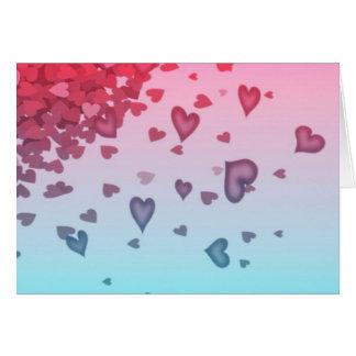 Hearts Of Hearts Card
