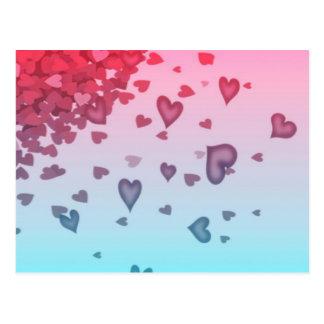 Hearts Of Hearts Postcard