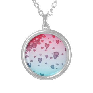 Hearts Of Hearts Silver Plated Necklace