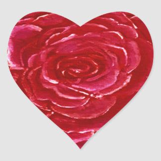 Hearts of Rose Sticker