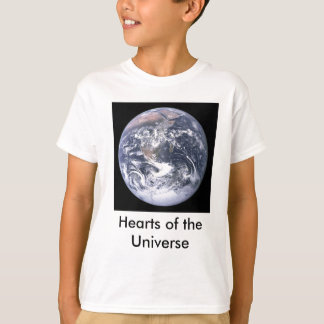 Hearts of the Universe Kids T-Shirt
