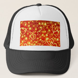 Hearts On Fire Trucker Hat