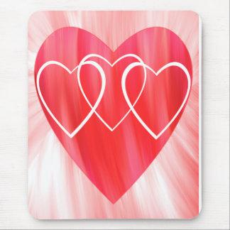 Hearts on Hearts Mousepad