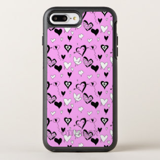 Hearts OtterBox Symmetry iPhone 8 Plus/7 Plus Case