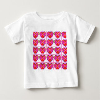 Hearts, pattern of love. baby T-Shirt