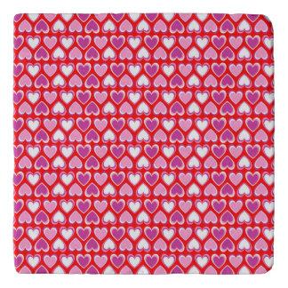 Hearts pattern trivet