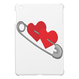 Hearts pins cover for the iPad mini