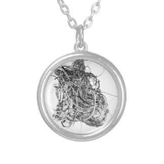 Hearts Silver Plated Necklace