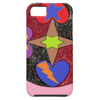 hearts star iPhone 5 cover