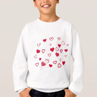 hearts sweatshirt