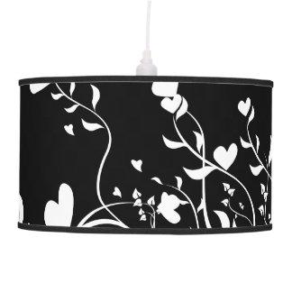 Hearts & Swirls Pendant Lamp