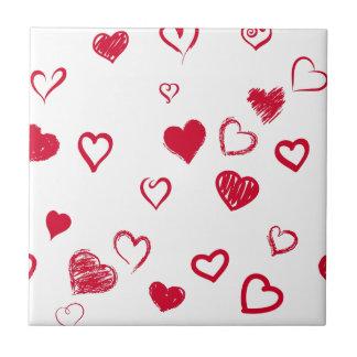 hearts tile
