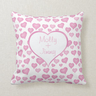 Hearts Valentine's Day Pillow