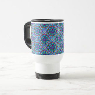 Hearts Vintage Kaleidoscope    Travel Mug
