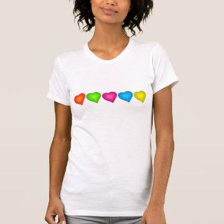 Hearts Women s T-Shirt