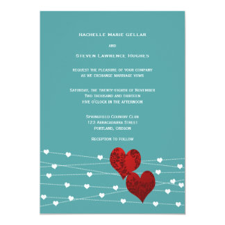 Heartstring Invitation