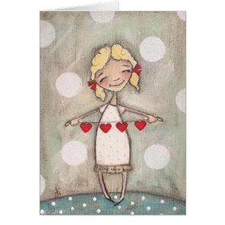 Heartstrings - Blank Notecards Note Card