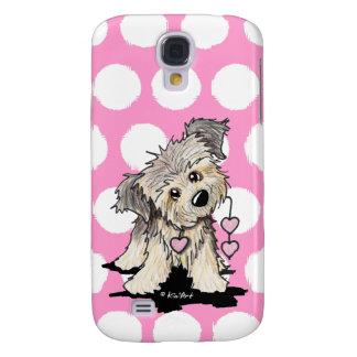 Heartstrings Border Terrier Samsung Galaxy S4 Cover