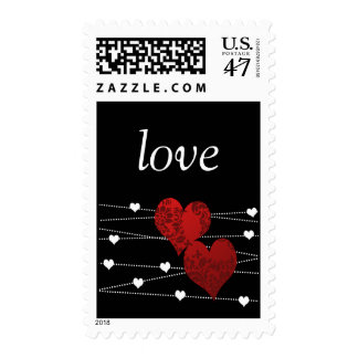 Heartstrings postage
