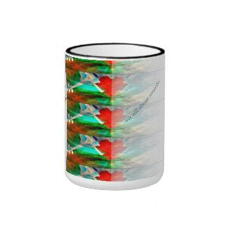 Heartstrings Remember Ringer Coffee Mug