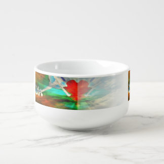 Heartstrings Soup Bowl With Handle