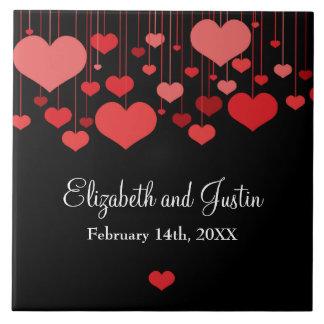 Heartstrings Valentines Tile