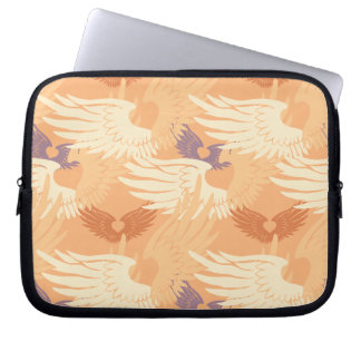 Heartwings Camouflage (apricot/lavender) Laptop Computer Sleeves