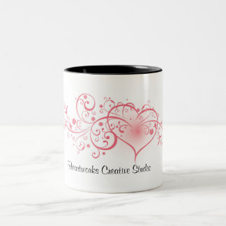 Heartworks Creative Studio Two-Tone Coffee Mug
