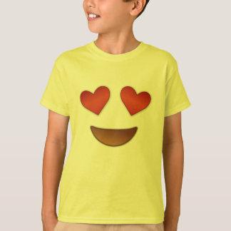 Hearty eyes emoji tees