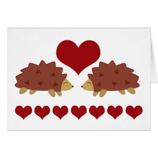 Hearty Hedgehog Card
