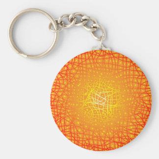 Heat Background Keychain