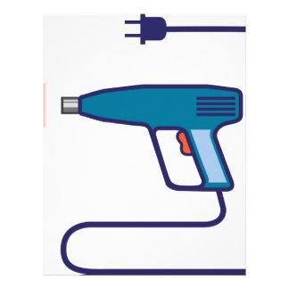 Heat Gun Custom Letterhead