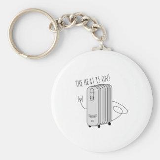 Heat Is On Keychain