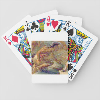 Heat of conflict bicycle playing cards