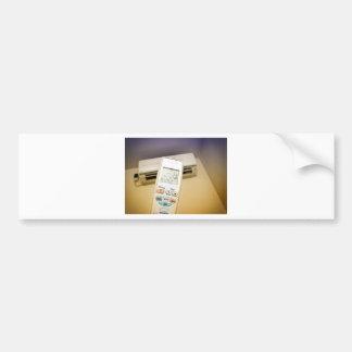 Heat or cool bumper sticker