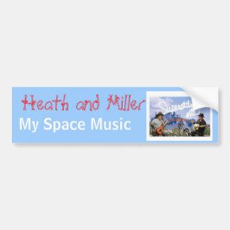 Heath and Miller Bumper Sticker