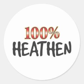 Heathen 100 Percent Sticker