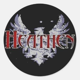 Heathen Classic Round Sticker