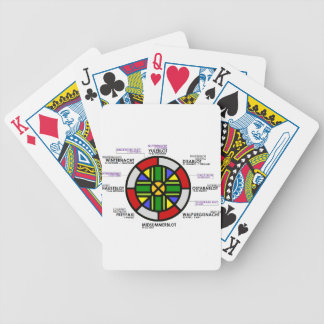 Heathen_holidays Bicycle Playing Cards