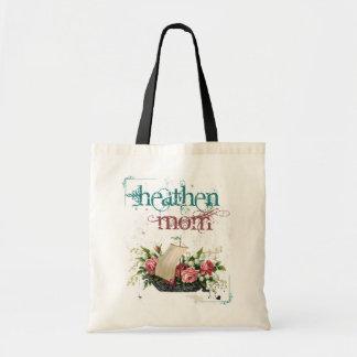 Heathen Mom Budget Tote Bag