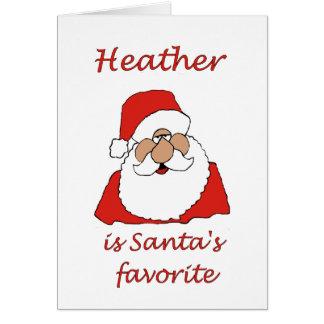 heather Christmas Card