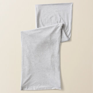 Heather Grey Jersey Scarf