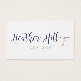 Heather Hill Realtor Business Card