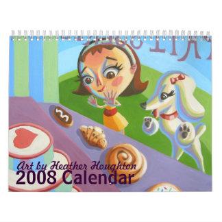 Heather Houghton 2008 Calendar