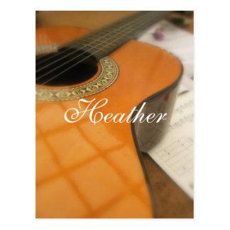 Heather Postcard
