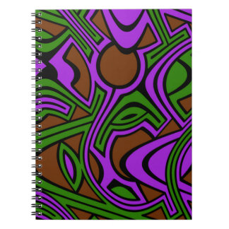 Heather Spiral Notebook