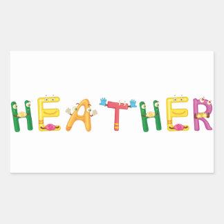 Heather Sticker