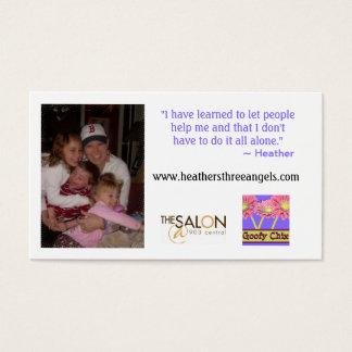 Heather's 3 Angels Indestructible Card