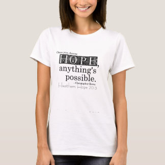 Heathers Hope 2013 tshirt fundraiser